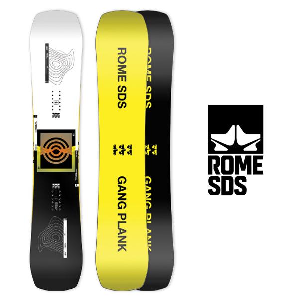 送料無料 スノーボード 板 ROME SDS ローム メンズ GANG PLANK スノボ スノー ボード パウダー パーク オールマウンテン 国内正規代理店品 146 40%off