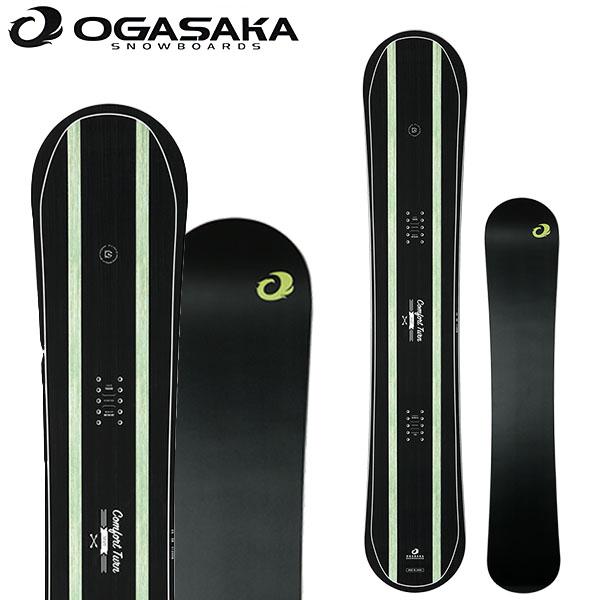 送料無料 スノー ボード 板 OGASAKA オガサカ CT-S シーティー Comfort Turn Stiff メンズ 2018-2019冬新作 スノーボード キャンバー 156 158 18-19 18/19 得割10