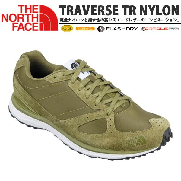 送料無料 レトロラン スニーカー THE NORTH FACE ザ・ノースフェイス メンズ Traverse TR Nylon トラバース TR ナイロン シューズ 靴 Vibram Sole