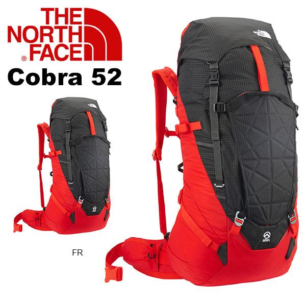 送料無料 ザック リュックサック THE NORTH FACE ザ・ノースフェイス Cobra 52 コブラ52 アルパインパック 登山 アウトドア 50 52L かばん バッグ SUMMIT SERIES
