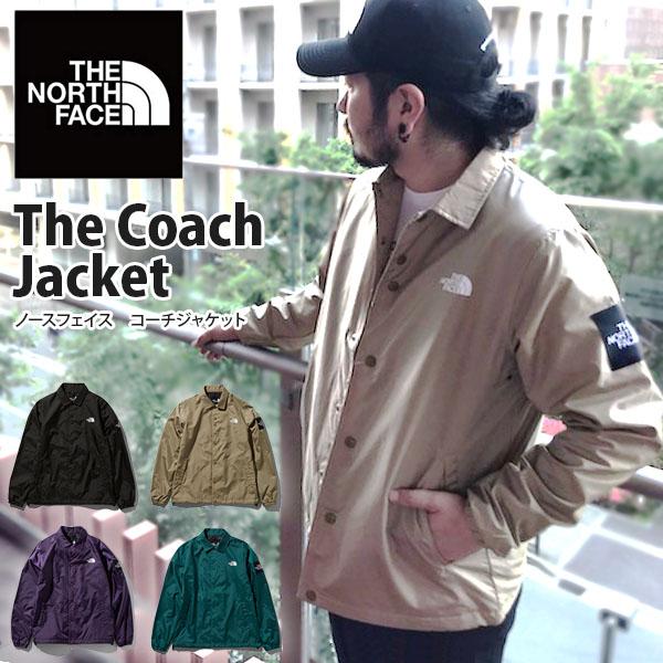 送料無料 コーチジャケット THE NORTH FACE ザ・ノースフェイス The Coach Jacket メンズ np21836 スクエアロゴ ナイロンジャケット ブラック 黒 2019春新色