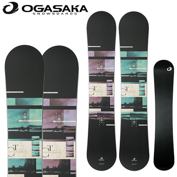 送料無料 スノーボード 板 OGASAKA オガサカ CT メンズ レディース スノーボード キャンバー カービング 139 143 146 150 152 154 156 158 19/19 10%off