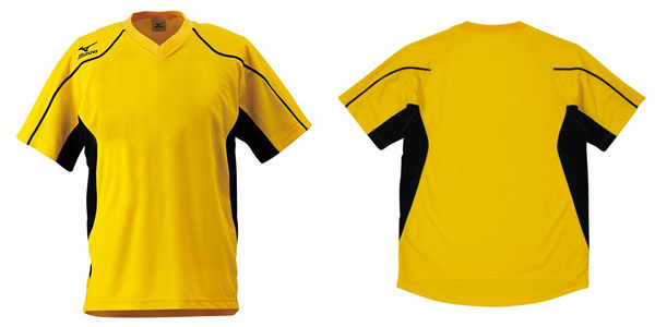 キッズ半袖TシャツミズノMIZUNOゲームシャツジュニア子供サッカーフットボールフットサルスポーツウェアユニフォーム
