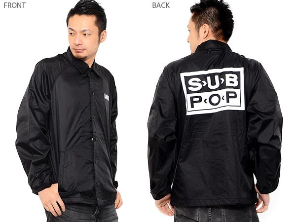 有尼龙茄克副pop SUB POP人教练茄克LOSER茄克风衣衣料的外衣标识印刷背印刷
