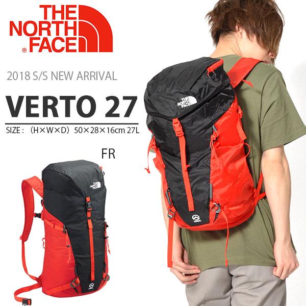 送料無料 リュックサック ザ・ノースフェイス THE NORTH FACE Verto 27 ヴェルト27 27リットル サミットシリーズ アウトドア バッグ ザック バックパック 登山 nm61806
