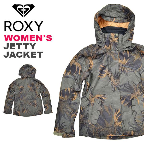 送料無料 スノーボードウェア ROXY ロキシー JETTY JACKET レディース ジャケット スノーボード スノボ ウェア ジャケット erjtj03180 2018-2019冬新作 18-19 18/19 30%off