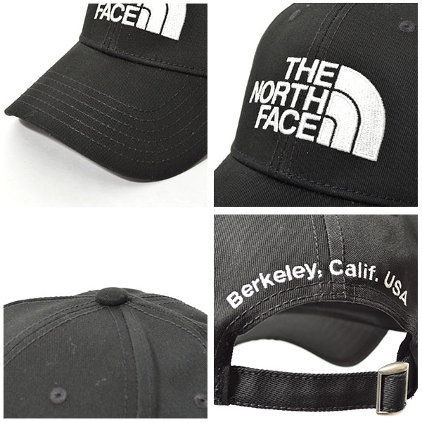 キャップザ・ノースフェイスTHENORTHFACEロゴキャップTNFLOGOCAP帽子フリーサイズ2019春夏新色ロゴ刺繍スナップバックnn01830