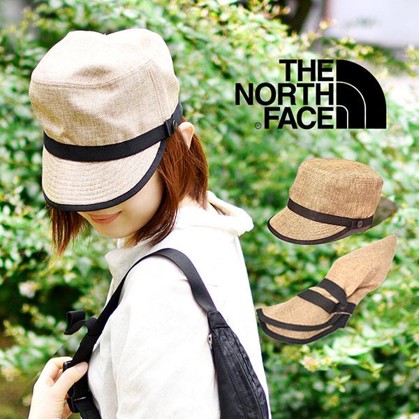 送料無料 麦わら帽子 ザ・ノースフェイス THE NORTH FACE Hike Cap メンズ レディース ハイク キャップ パッカブル 紫外線 日差し防止 折り畳み ストローキャップ ナチュラル NN01827