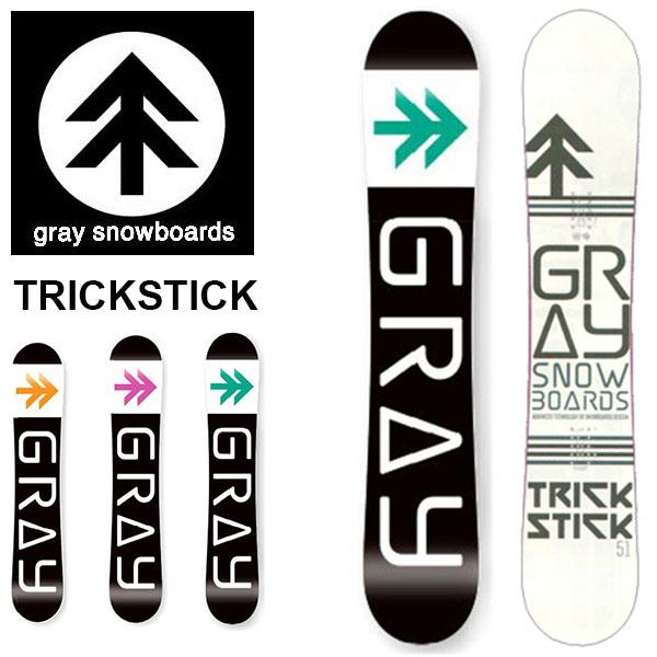 送料無料 ボード 板 gray snowboards グレイ スノーボード メンズ TRICKSTICK トリックスティック スノボ グランドトリック グラトリ パーク ジブ 147 151 153 2018-2019冬新作 18-19 18/19 10%off