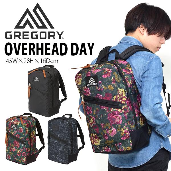 送料無料 リュックサック GREGORY グレゴリー OVERHEAD DAY オーバーヘッドデイ メンズ レディース 22L 日本正規品 バッグ バックパック デイパック かばん