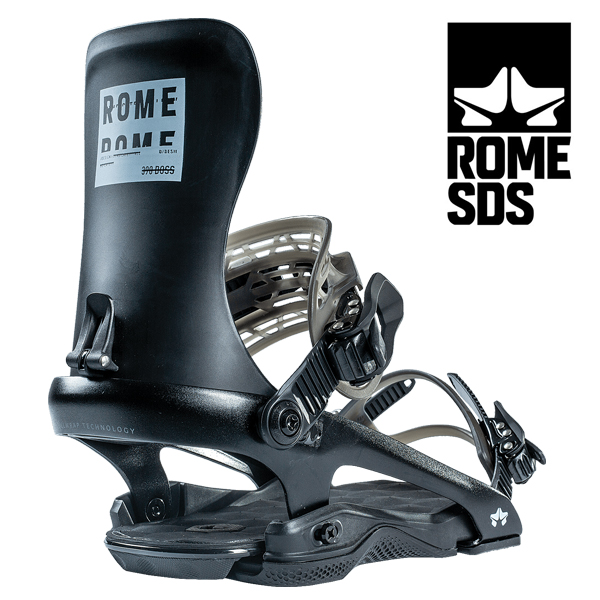 送料無料 バインディング ROME SDS ローム 390 BOSS メンズ スノーボード スノボ BINDING ビンディング パーク 得割30
