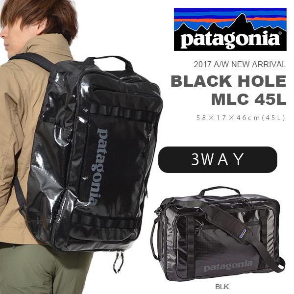送料無料 3way リュックサック パタゴニア patagonia Black Hole MLC 45L ブラックホール スーツケース ショルダーバッグ ブリーフケース ビジネスバッグ バックパック バッグ 旅行 トラベル 出張 アウトドア 49305