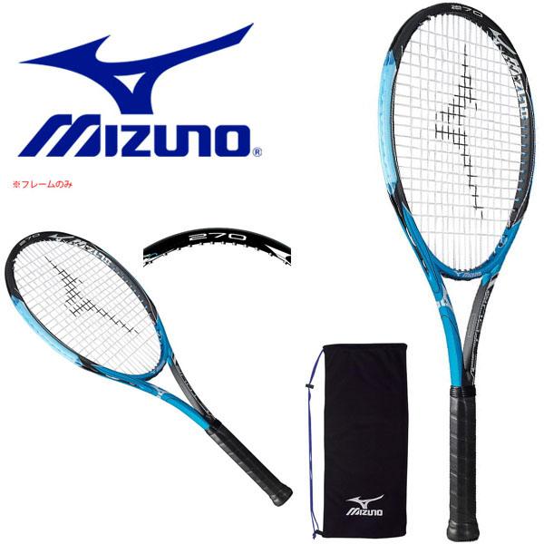 送料無料 フレームのみ テニスラケット ミズノ MIZUNO C TOUR 270 硬式用 硬式テニス テニス ラケット ポータブルケース付