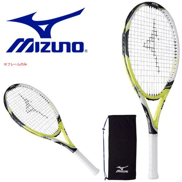 送料無料 フレームのみ テニスラケット ミズノ MIZUNO PW 110L 硬式用 硬式テニス テニス ラケット ポータブルケース付