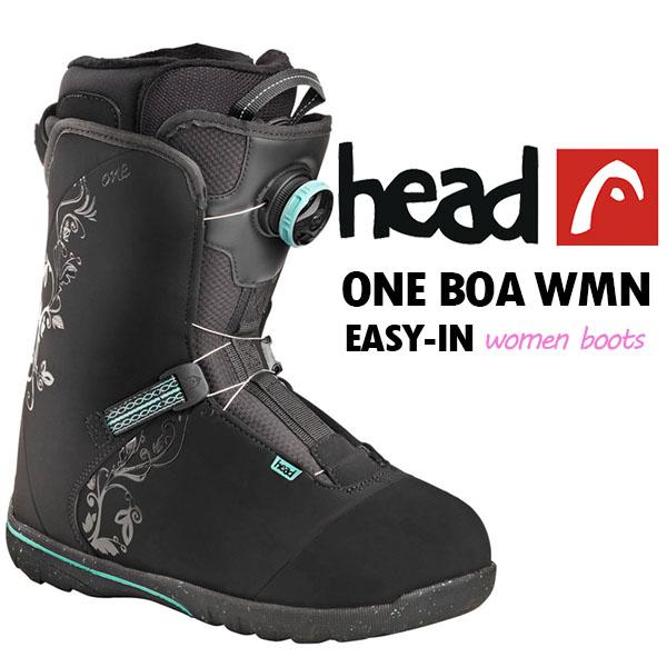 2017-2018冬新作 17-18 送料無料 head ヘッド スノーボード ブーツ ONE BOA WMN 350707 レディース 婦人 ボア スノボ 国内正規代理店品 得割40