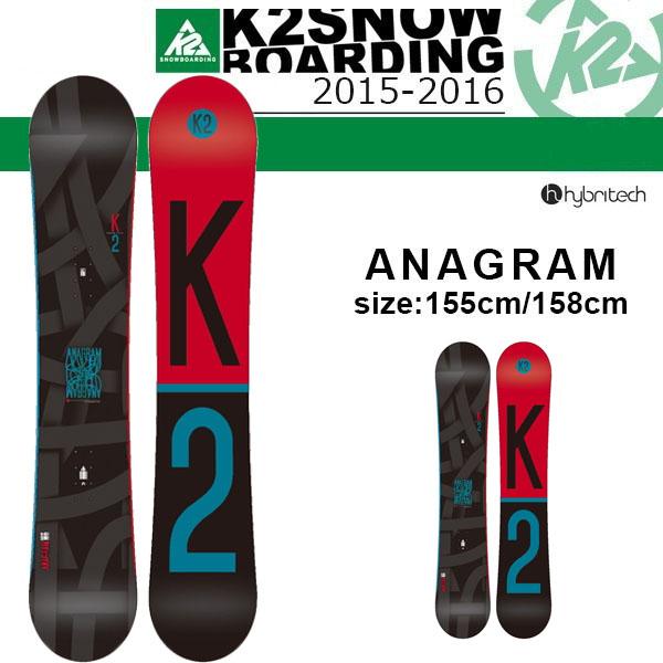 单板滑雪板K2 K2 ANAGRAM变位字存物柜人SNOWBOARD甲板国内正规的物品
