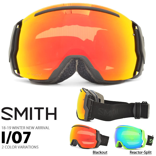 送料無料 スノーゴーグル SMITH OPTICS スミス I/O7 アイオーセブン クロマポップ レンズ スノボ スノーボード スキー スノー ゴーグル ギア 2018-2019冬新作 18-19 日本正規品 io7 スペアレンズ ボーナスレンズ 20%off