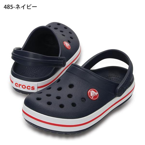 サンダルクロックスcrocsクロックバンドキッズベビー子供クロッグサンダルシューズ靴crocband204537日本正規品