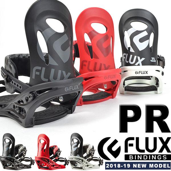 送料無料 FLUX フラックス バインディング PR ピーアール メンズ スノーボード BINDING ビンディング 2018-2019冬新作 2018-19 18-19 得割10