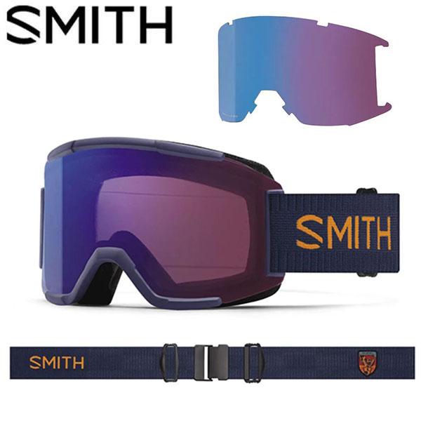 送料無料 スノーゴーグル SMITH OPTICS スミス SQUAD スカッド クロマポップ レンズ スノボ スノーボード スキー スノー ゴーグル ギア 2018-2019冬新作 18-19 日本正規品 10%off スペアレンズ ボーナスレンズ