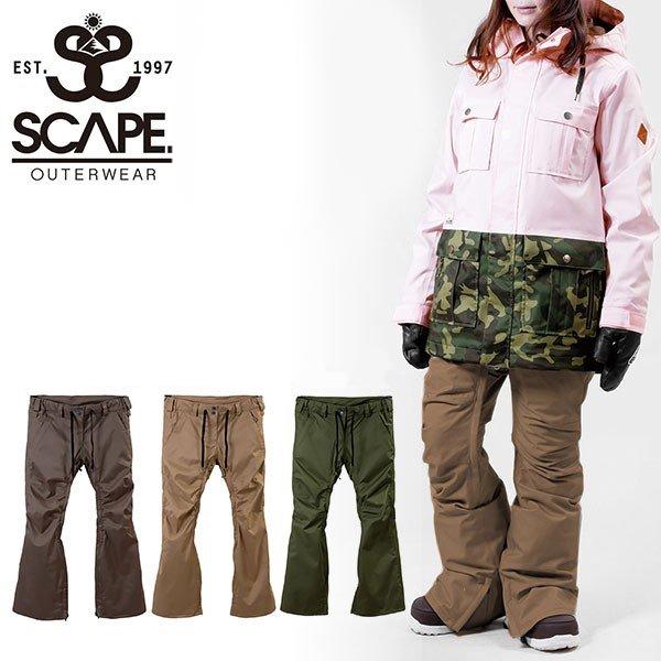 30%off 送料無料 スノーボードウェア SCAPE エスケープ CELES PANTS レディース パンツ スノボ スノーボード スノーウェア ボトムス セレスパンツ スリムフィット