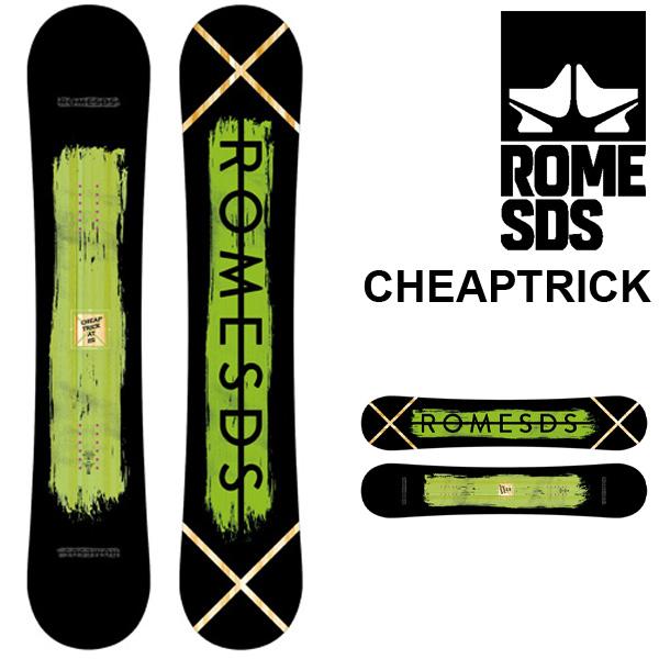 送料無料 スノー ボード 板 ROME SDS ローム CHEAPTRICK ROCKER メンズ スノーボード スノボ 紳士用 フリーラン パーク 151 得割40