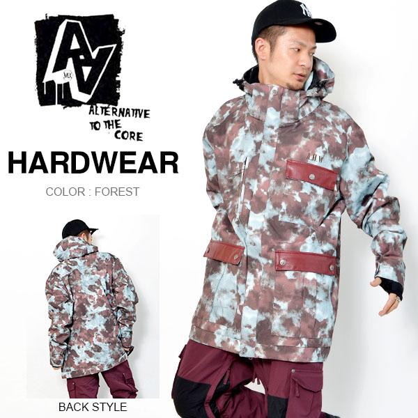 送料無料 スノーボードウェア AA HARDWEAR ダブルエー ハードウェア HEAVY JACKET メンズ ジャケット スノボ スノーボード スノーウェア 50%off 半額
