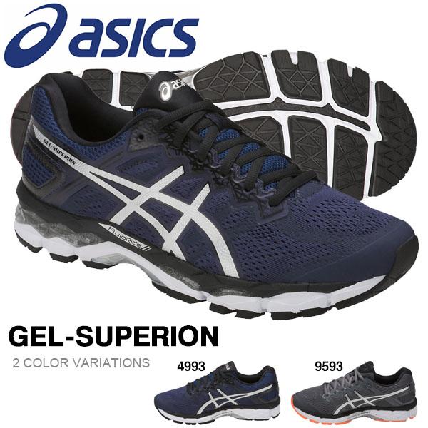 送料無料 ランニングシューズ アシックス asics GEL-SUPERION メンズ 中級者 サブ5 ランニング ジョギング マラソン 靴 シューズ ランシュー