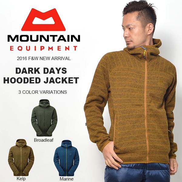 現品限り 40%off 送料無料 フリース ジャケット メンズ MOUNTAIN EQUIPMENT マウンテンイクイップメント DARK DAYS HOODED JACKET アウター フード パーカー アウトドア 防寒
