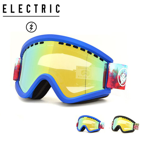送料無料 スノーゴーグル ELECTRIC エレクトリック EGV イージーブイ アジアンフィット 日本正規品 メンズ レディース ユニセックス スノボ スノー ボード 平面レンズ 得割35