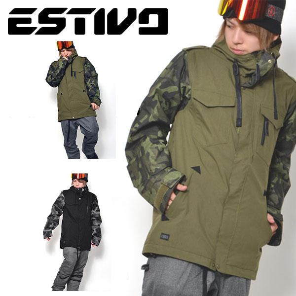 最終処分 60%off 送料無料 スノーボードウェア エスティボ ESTIVO EV SHOETIME JKT メンズ ジャケット スノボ スノーボード スノーボードウエア SNOWBOARD WEAR スキー