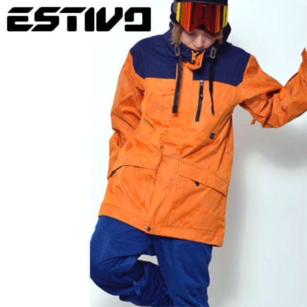 送料無料 スノーボードウェア エスティボ ESTIVO EV HUNTER JKT メンズ ジャケット スノボ スノーボード スノーボードウエア SNOWBOARD WEAR スキー 50%off