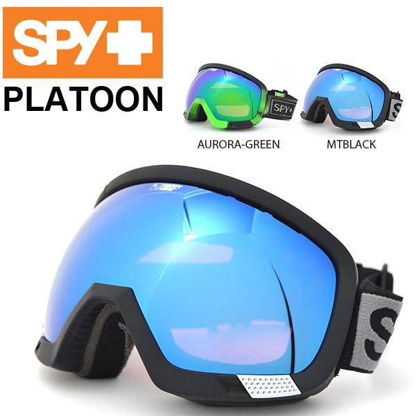 送料無料 スノーゴーグル SPY スパイ PLATOON プラトーン ハッピーレンズ メンズ レディース スノボ スノーボード スキー スノー ゴーグル ギア 日本正規品 得割35