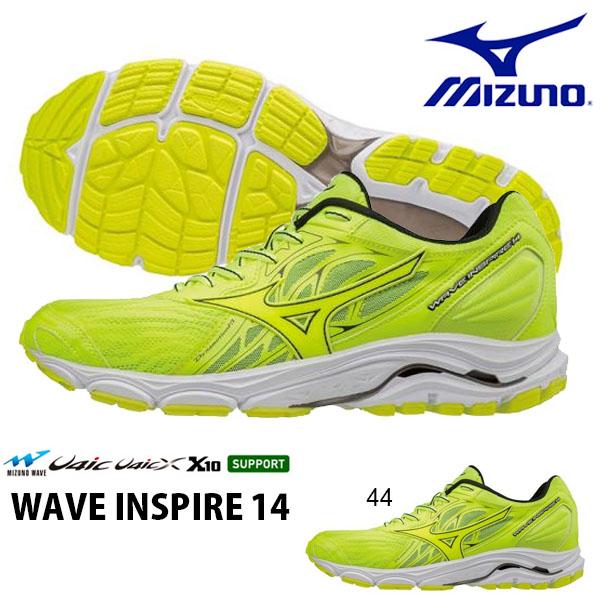 送料無料 ランニングシューズ ミズノ MIZUNO ウエーブ インスパイア 14 WAVE INSPIRE メンズ 初心者 マラソン ランニング ジョギング シューズ 靴 ランシュー 2018春夏新作