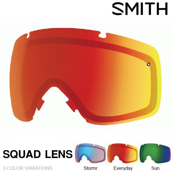 送料無料 スペアレンズ 交換レンズ SQUAD LENS スカッド スノーゴーグル SMITH OPTICS スミス クロマポップレンズ スノボ ギア 日本正規品 スノーボード ゴーグル 得割15