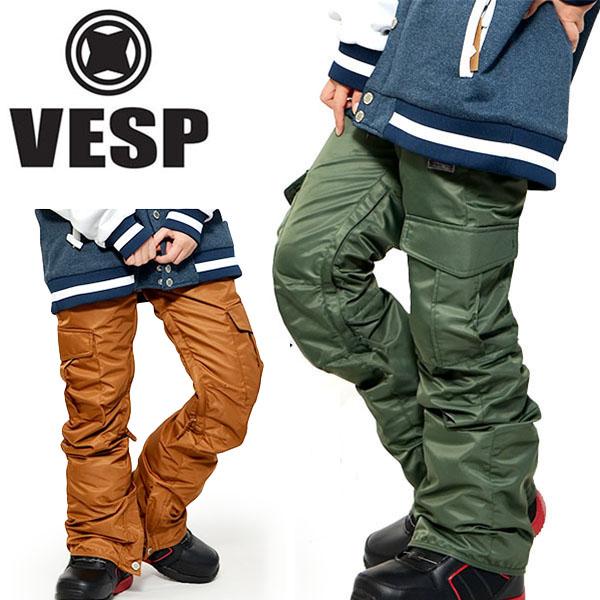 送料無料 スノーボードウェア VESP ベスプ SLIM NYLON PANTS レディース VPWP16-03 パンツ スノボ スノーボード ボトムス レディース 35%off