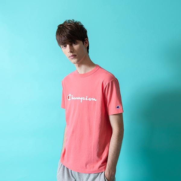 半袖TシャツチャンピオンChampionメンズT-SHIRTロゴクルーネックスポーツカジュアル2019春夏新作C3-P302