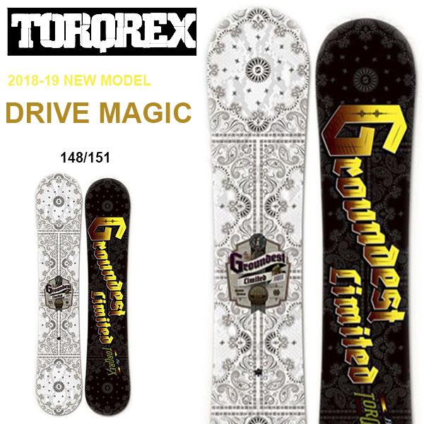 送料無料 TORQREX トルクレックス ボード DRIVE MAGIC ドライブマジック 板 スノーボード メンズ 紳士スノーボード ダブルキャンバー 148 151 30%off
