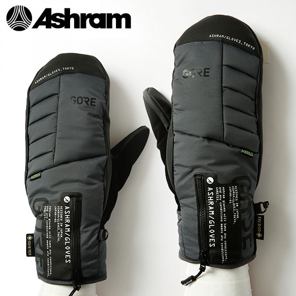送料無料 スノーボード グローブ Ashram アシュラム 手袋 ミトン スノボ ARMA アルマ ゴアテックス GORE-TEX メンズ レディース20%off