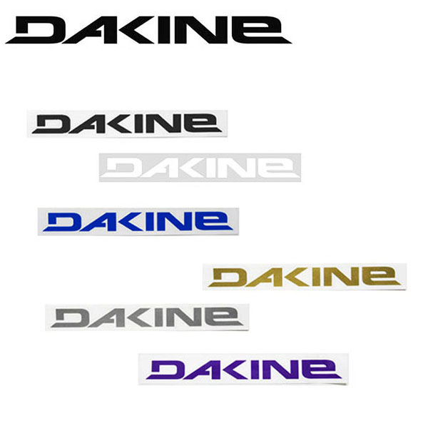 ステッカー カスタマイズ ダカイン ゆうパケット対応可能 DAKINE ロゴ カッティング 新作 30cm×3cm LARGE シール カッティングシート サーフ スケボー 送料無料 スノボ スケートボード スノーボード サーフィン