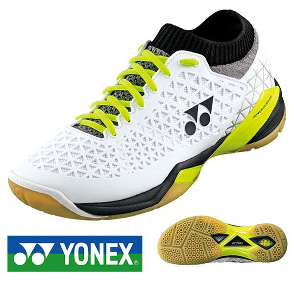 送料無料 バドミントンシューズ ヨネックス YONEX メンズ レディース パワークッション エクリプションZ ミッド 3E バドミントン シューズ スニーカー 靴 運動靴 クラブ 部活 SHBELSZMD 得割20