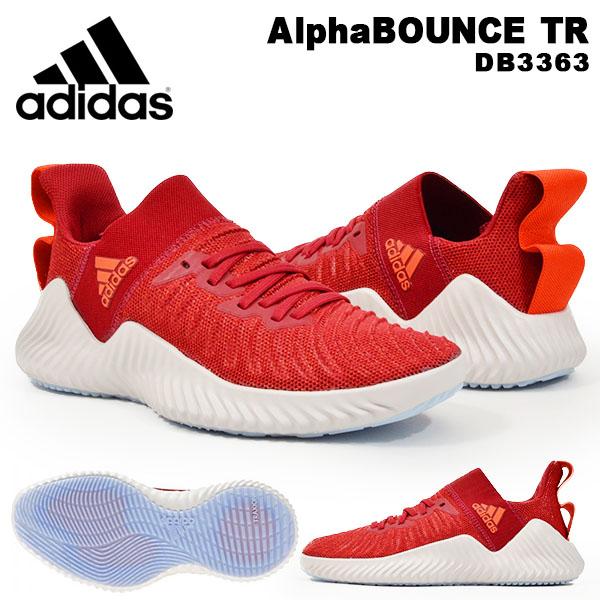 得割30 送料無料 スニーカー アディダス adidas メンズ AlphaBOUNCE TR アルファバウンス ローカット シューズ 靴 2019秋新作 DB3363