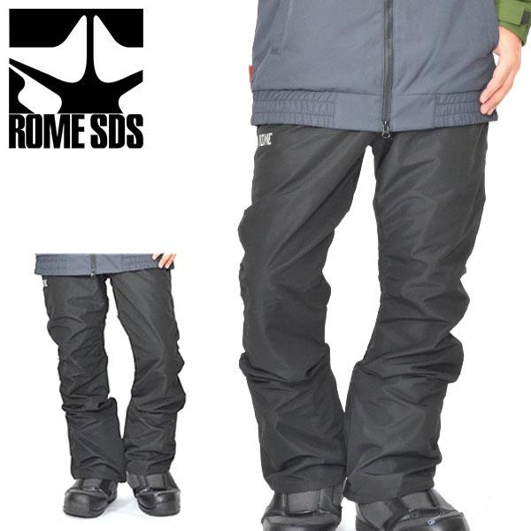 送料無料 スノーボードウェア ROME SDS ローム メンズ BONHAM PANTS パンツ スノボウェア スノーウエア スノーボード スノボ スキー ウェア 2018-2019冬新作 18-19 10%off