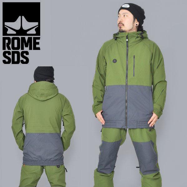 送料無料 スノーボードウェア ROME SDS ローム DSK JACKET メンズ ジャケット スノボ スノーボード スノーウェア 2018-2019冬新作 18-19 20%off