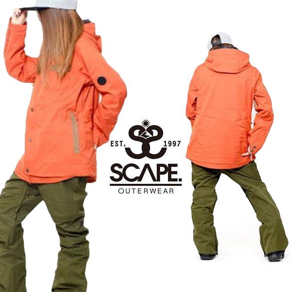 現品限り 40%off 送料無料 スノーボードウェア SCAPE エスケープ YITH JACKET レディース イース ジャケット スノボ スノーボード スノーウェア
