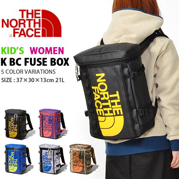 送料無料 ザ・ノースフェイス THE NORTH FACE キッズ ヒューズボックス K BC FUSE BOX レディース ジュニア 子供 21リットル デイパック リュックサック バッグ バックパック 2019春夏新作 nmj81900 ザ ノースフェイス