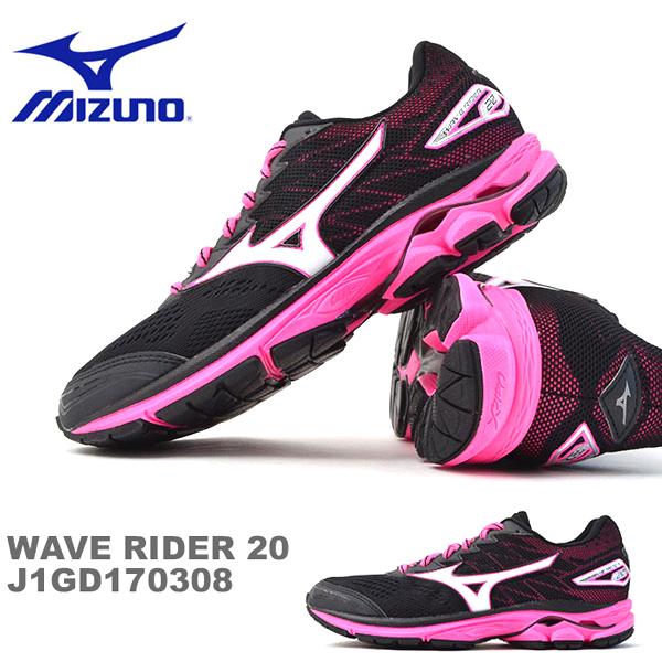 得割30 送料無料 ランニングシューズ ミズノ MIZUNO ウエーブライダー 20 WAVE RIDER レディース 初心者 マラソン ランニング ジョギング シューズ 靴 ランシュー 【あす楽対応】