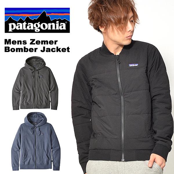 送料無料 中綿 ナイロン ジャケット Patagonia パタゴニア メンズ Mens Zemer Bomber Jacket メンズ ゼメル ボマー ジャケット マウンテン 日本正規品 27870 アウトドア 2018秋冬新作