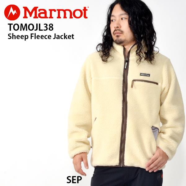 送料無料 フリース ジャケット Marmot マーモット Sheep Fleece Jacket シープフリースジャケット メンズ アウトドア キャンプ 31%off