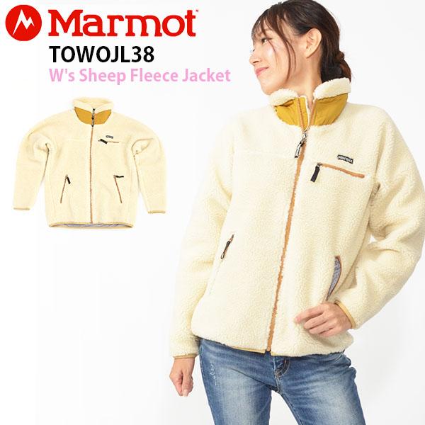 【すぐ使える100円割引クーポン配布中!】 送料無料 フリース ジャケット Marmot マーモット W's Sheep Fleece Jacket ウィメンズシープフリースジャケット レディース アウトドア 31%off